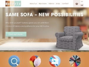 Soferia - good solution for the same sofas